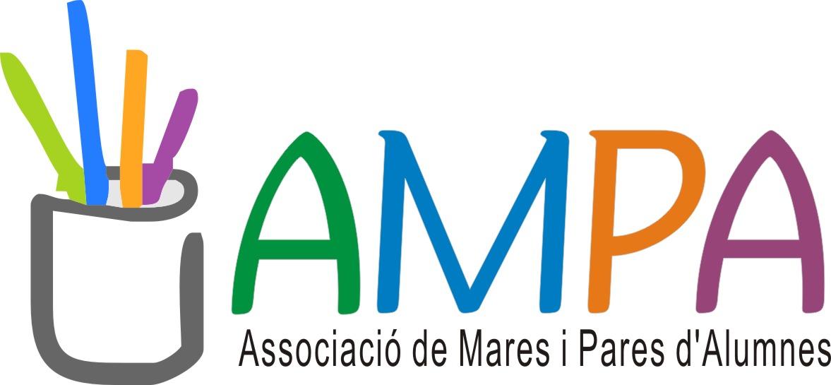 Logo de AMPA (Asociació de mares i pares d'alumnes)