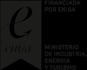 Logo de la subvención Enisa del Ministerio de Industria , energía y turismo
