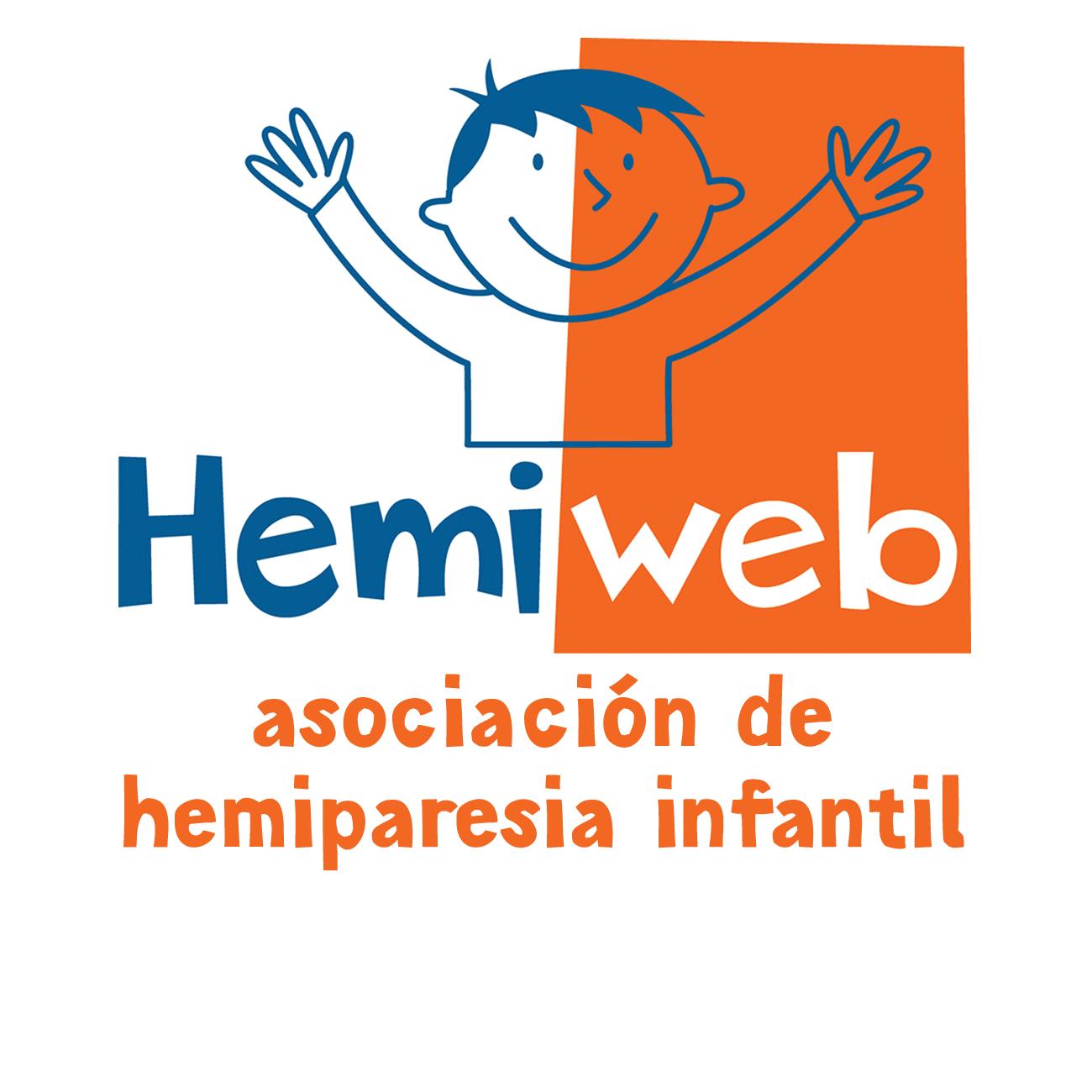 Logo de Hemiweb asociación de hemiparesia infantil